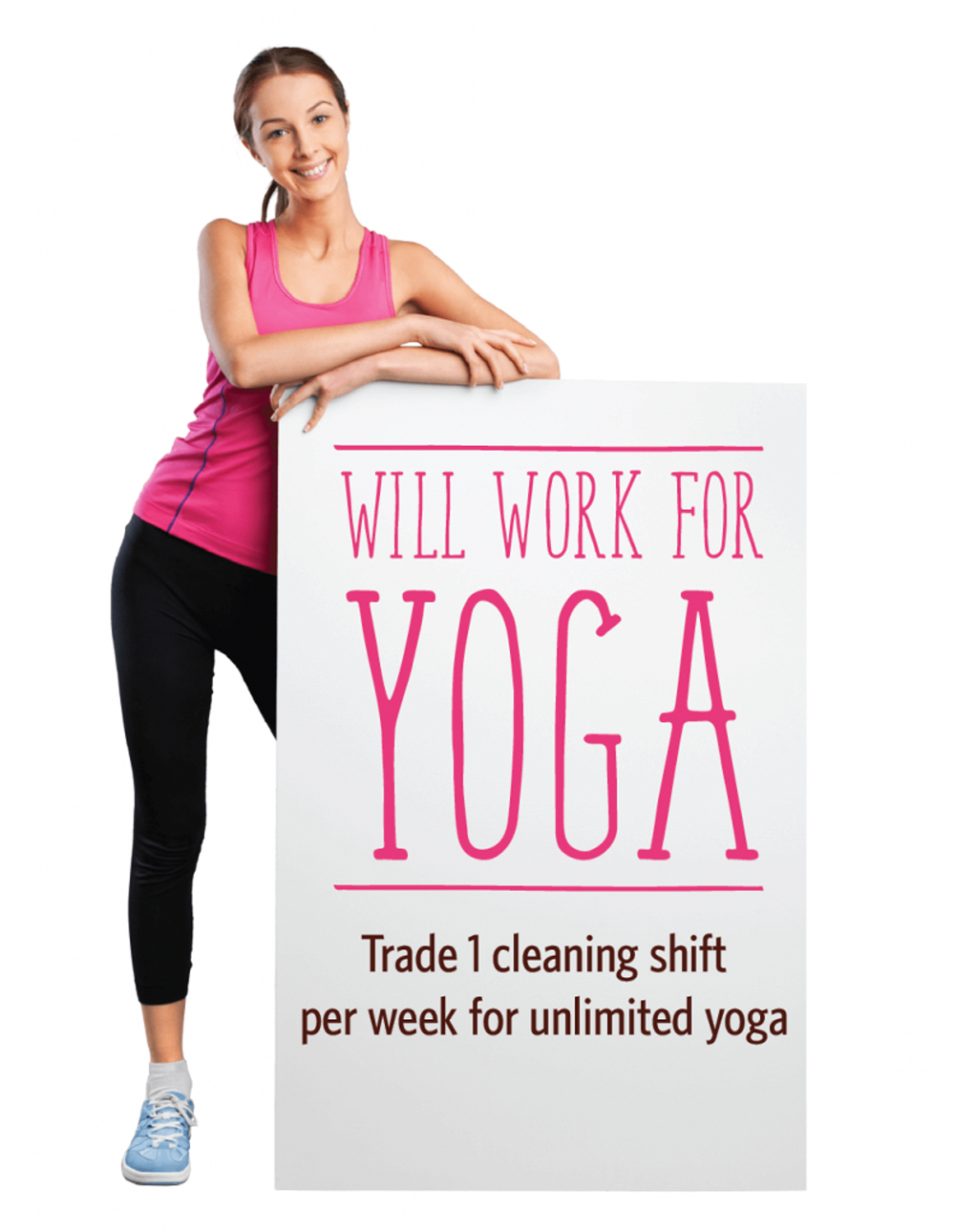 Will Work for Yoga